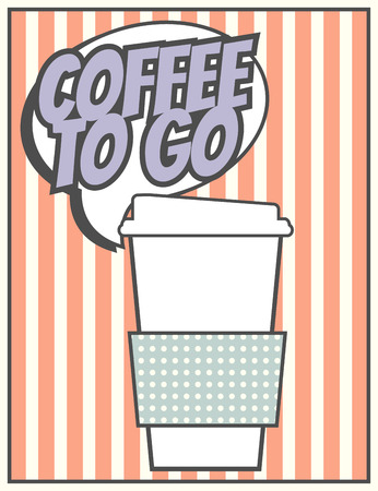 need: need coffee background, illustration in vector format Illustration