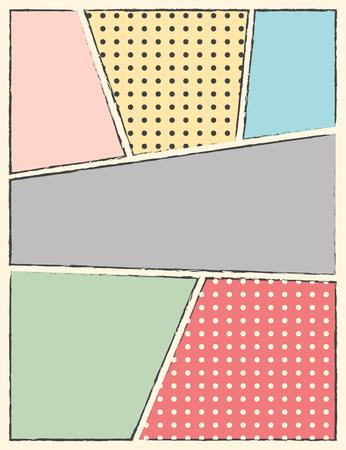 poster art: pop art background, illustration in vector format Illustration