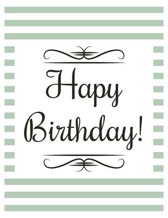 생일 축하 카드, 벡터 형식으로 그림