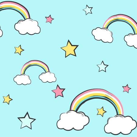 belive: Sweet colorful background, illustration in  format