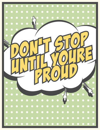 modern motivational quote, illustration in  format Illustration