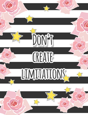 work popular: modern motivational quote, illustration in vector format