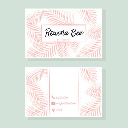 copy paste: bussines card design, illustration in vector format Illustration