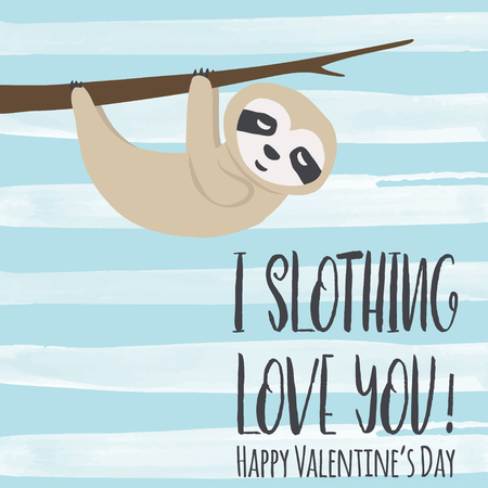 happy valentines day card, illustration in vector format