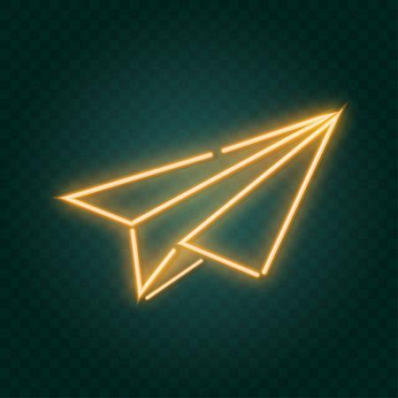 neon sign, illustration in vector format
