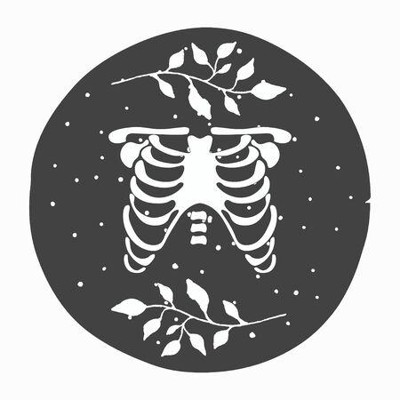 modern occult design, illsustration in vector format Vectores