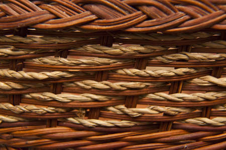 an old brown basket background photo