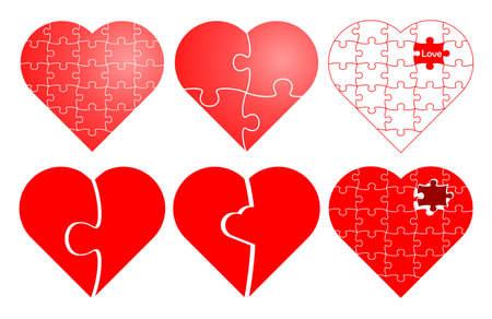 broken unity: Valentine puzzle