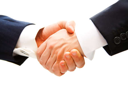 handshake of business partner after the deal Stock Photo - 12203137