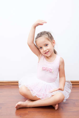 smile little balerina have exercices Imagens - 14451542