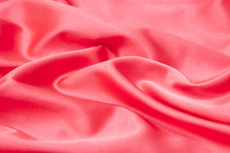 shiny red silk texture