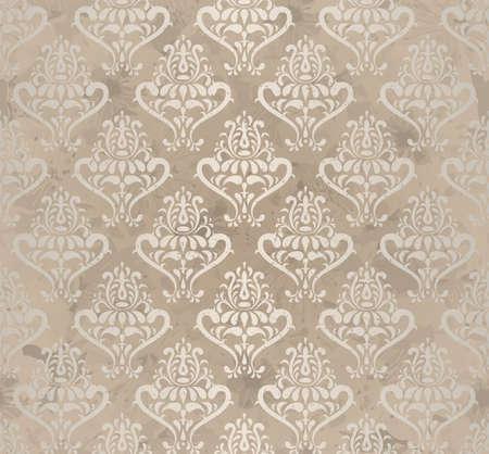papel tapiz: ilustraci�n de la vendimia wallpaper sin fisuras