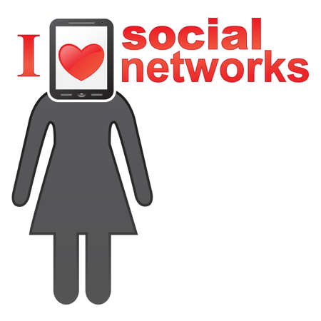 Social networks concept icon  EPS 8 vector illustration Stock Vector - 12429335