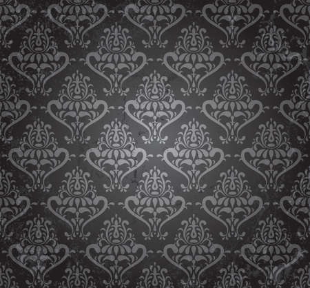 vintage seamless wallpaper in grunge style  EPS 8 vector illustration Stock Vector - 12429336