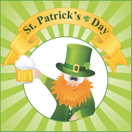 St  Patrick s Day vector Illustration  EPS 8  Vector