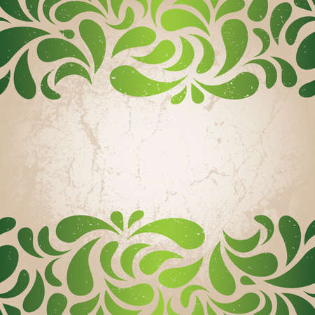 Grunge background for St  Patrick s Day  EPS 8 vector illustration