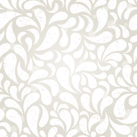 Silver vintage seamless wallpaper  EPS 10 vector illustration  Vector