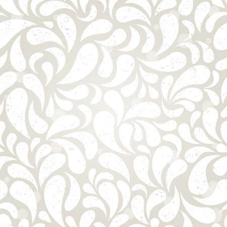 Silver vintage seamless wallpaper  EPS 10 vector illustration Stock Vector - 12931910