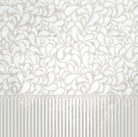 removed: Vintage silver  wallpaper in grunge style  Grunge effect can be removed  EPS 8 vector illustration