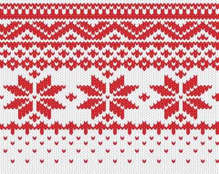 maglioni: Fiocco di neve rosso sfondo trasparente maglia EPS illustrazione vettoriale 8