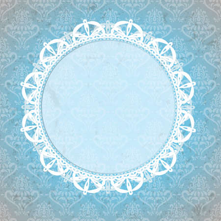 Vintage lace background  EPS 10 vector illustration Stock Vector - 13112976