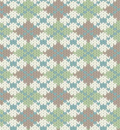 lavoro manuale: Seamless maglia per abbigliamento invernale
