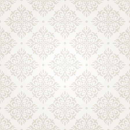 Silver vintage seamless wallpaper   Stock Photo - 13860009