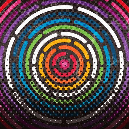 arte moderno: Resumen de antecedentes coloridos Vectores