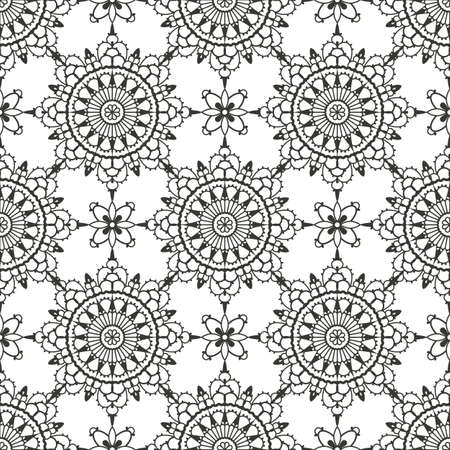 Lace seamless pattern   Vector