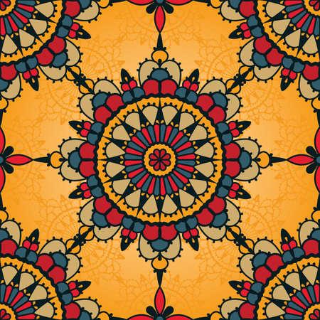 persian art: Traditional seamless pattern