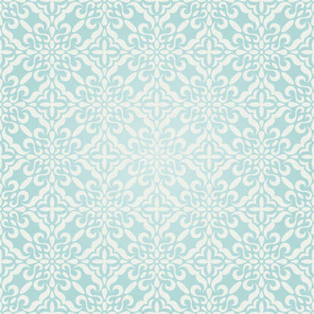 papel tapiz turquesa: Adornos de invierno sin problemas. Vectores