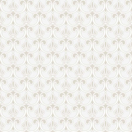 Seamless wallpaper in vintage style  Ilustrace