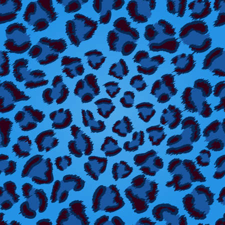 camouflage: Transparente azul de leopardo patr�n de textura