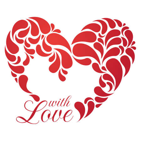 heart illustration for romantic design Stock Vector - 15500594