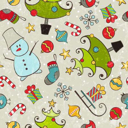 Seamless pattern for Christmas projektowania