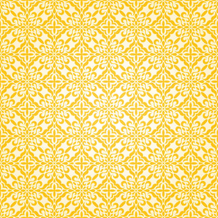 Yellow seamless pattern vector illustration Vector