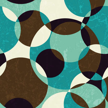 Retro abstract seamless pattern  EPS 10 vector illustration