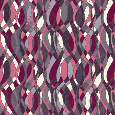 Abstract seamless pattern with grunge effect illustration
