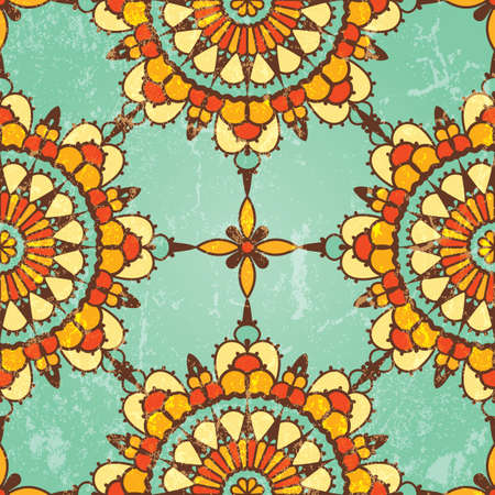 Ornamental seamless pattern  abstract background