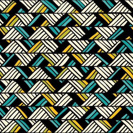 Hand drawn seamless pattern illustration  向量圖像