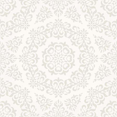 Seamless ornate retro pattern.