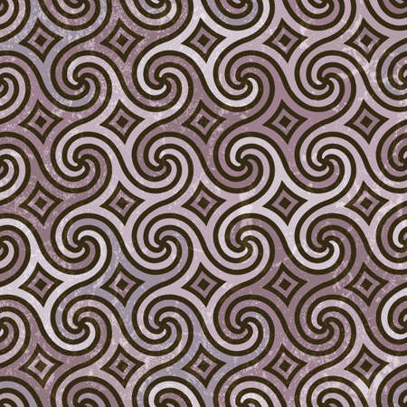 Seamless pattern with swirls. EPS 10 vector illustration.