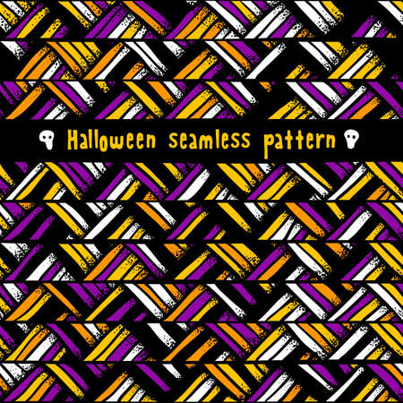 Halloween seamless background. Abstract pattern. EPS 10 vector illustration. Vector