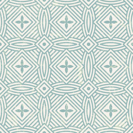 Seamless geometric pattern   Vector abstract background  EPS 10  Grunge effect can be removed Stock Vector - 23104050