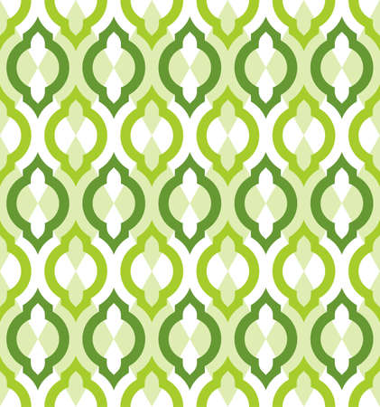 Vector seamless pattern. Moroccan style wallpaper.