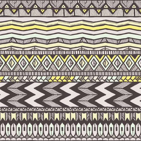 Ethnic seamless pattern.  Vector