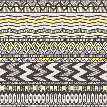 ethno: Ethnic seamless pattern.