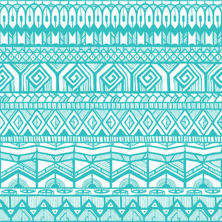 Tribal seamless texture. Abstract background.  Vector