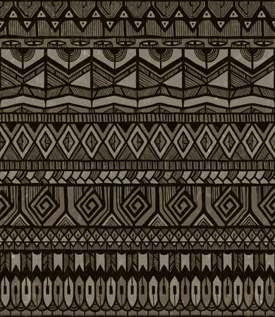 ethno: Seamless tribal print.