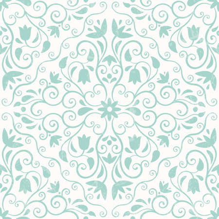 Floral pattern. Seamless background.  Vector